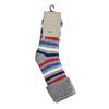 Teplé dětské ponožky bata, šedá, 919-2424 - 26