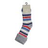Teplé dětské ponožky bata, šedá, 919-2424 - 13