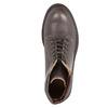 Dámská kožená kotníčková obuv weinbrenner, hnědá, 596-4632 - 19