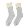 Teplé dámské ponožky bata, šedá, 919-1421 - 26