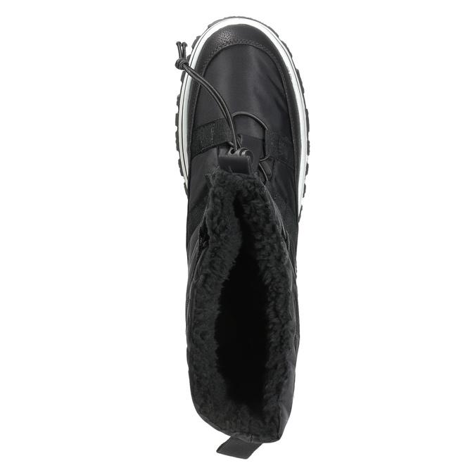Dámské sněhule se zateplením bata, černá, 599-6611 - 19