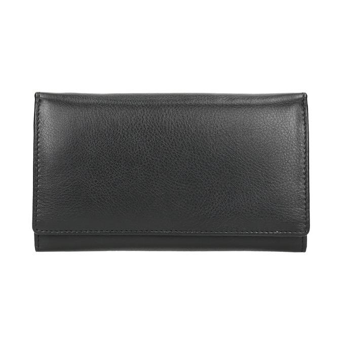 Dámská kožená peněženka bata, černá, 944-6357 - 26