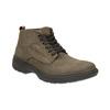 Kožené kotníkové boty bata, hnědá, 896-4226 - 13