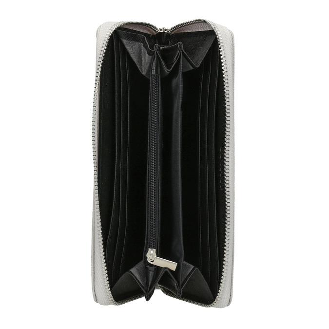 Stylová dámská peněženka bata, šedá, 941-2151 - 15