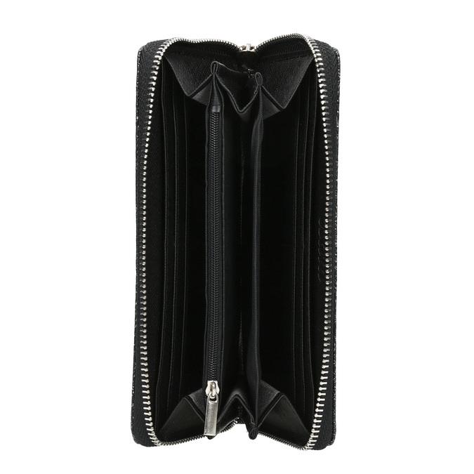 Dámská peněženka bata, černá, 941-6151 - 15