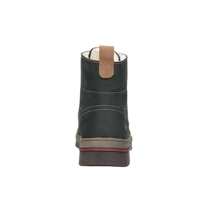 Kožená dámská zimní obuv weinbrenner, šedá, 596-2636 - 17