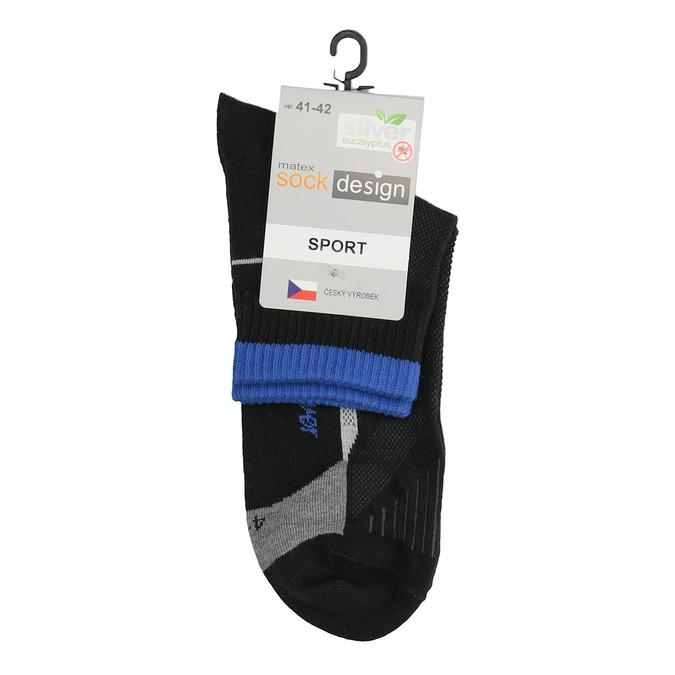 Sportovní ponožky power, černá, 919-9696 - 13