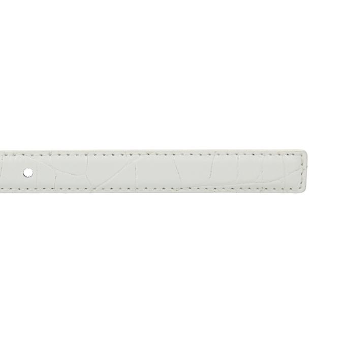 Dámský opasek bata, bílá, 951-1600 - 16