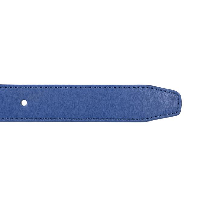 Modrý dámský opasek bata, modrá, 951-9601 - 16