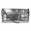 Dámské stříbrné psaníčko bata, stříbrná, 969-1220 - 19