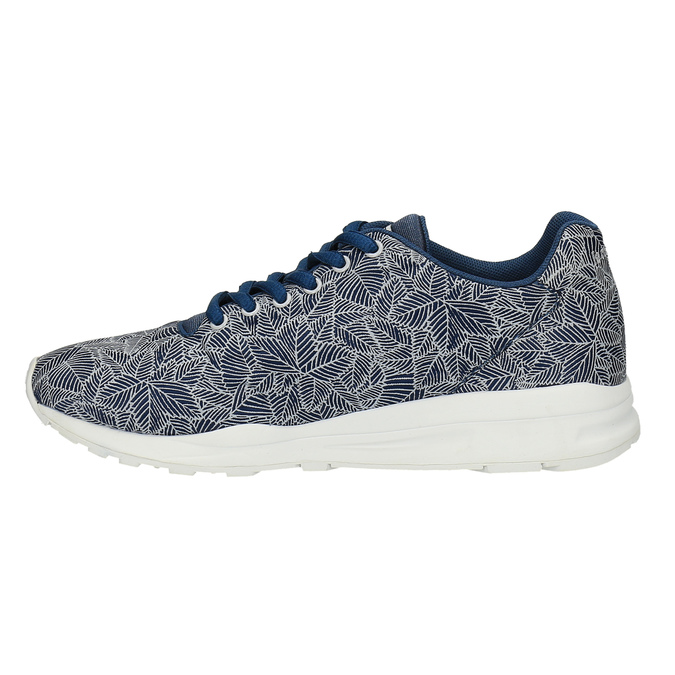 Stylové dámské tenisky le-coq-sportif, modrá, 509-9572 - 26