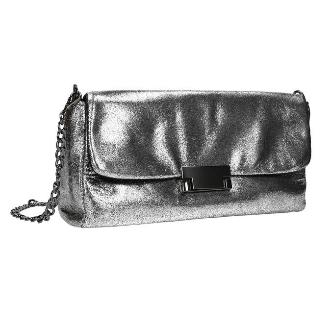 Dámské stříbrné psaníčko bata, stříbrná, 969-1220 - 13
