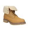 Kožená kotníčková obuv s kožíškem weinbrenner, hnědá, 596-8638 - 13