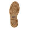 Kožená kotníčková obuv s kožíškem weinbrenner, hnědá, 596-8638 - 26