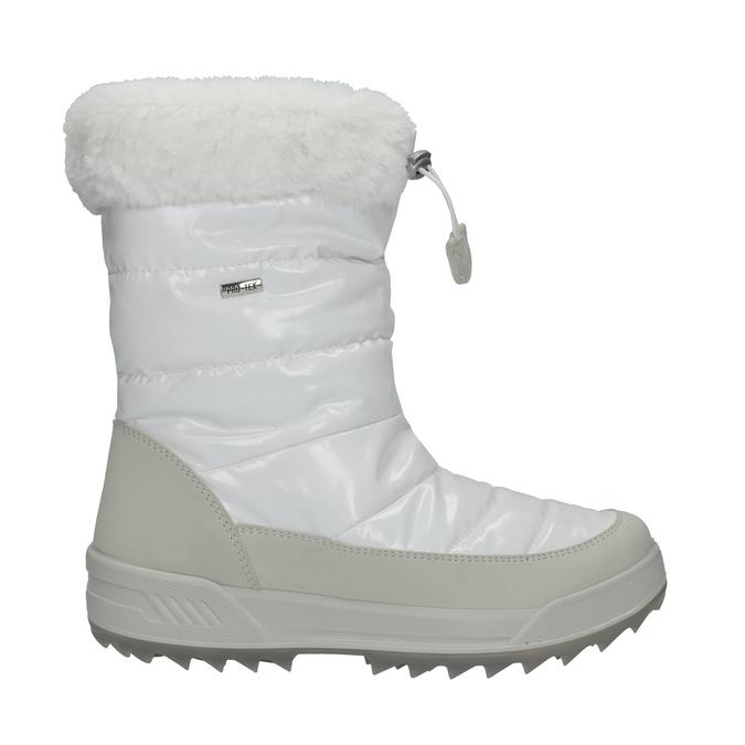 Dámské bílé sněhule s kožíškem weinbrenner, bílá, 591-1617 - 15