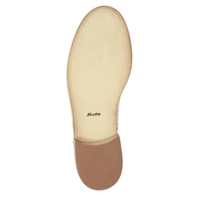 Kožené Chelsea Boots bata, béžová, 594-8432 - 26