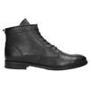 Kožená kotníčková obuv bata, černá, 594-6263 - 15