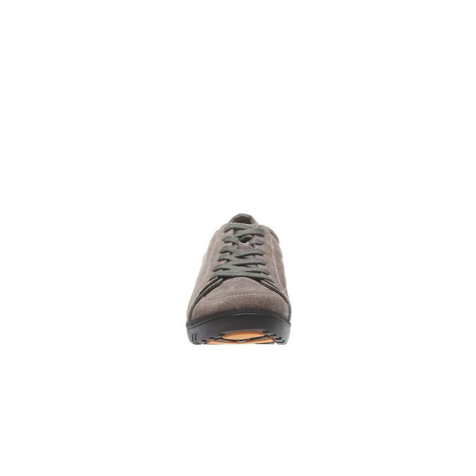 Kožené ležérní tenisky bata, hnědá, 843-3386 - 16