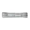 Stříbrné tkaničky 120 cm bata, stříbrná, 999-1366 - 13