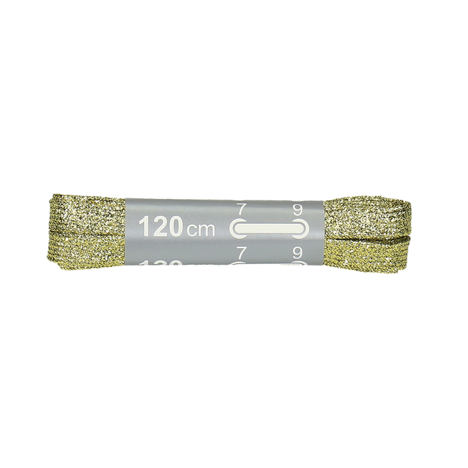 Zlaté tkaničky 120 cm bata, zlatá, 999-8366 - 13