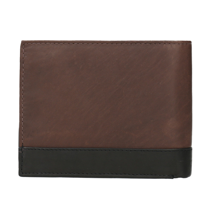 Pánská kožená peněženka bata, hnědá, 944-8149 - 16