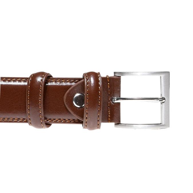Kožený opasek bata, hnědá, 954-3121 - 26