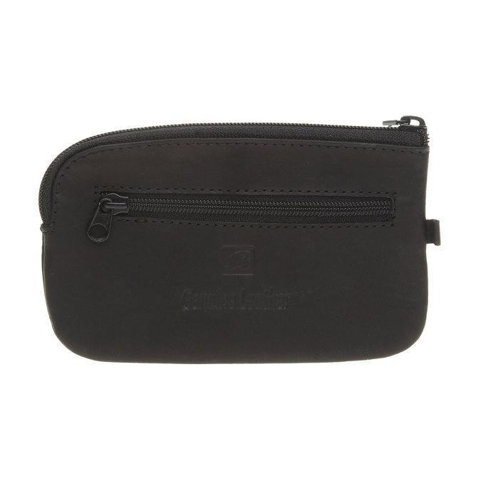 Kožená peněženka bata, černá, 944-6161 - 26