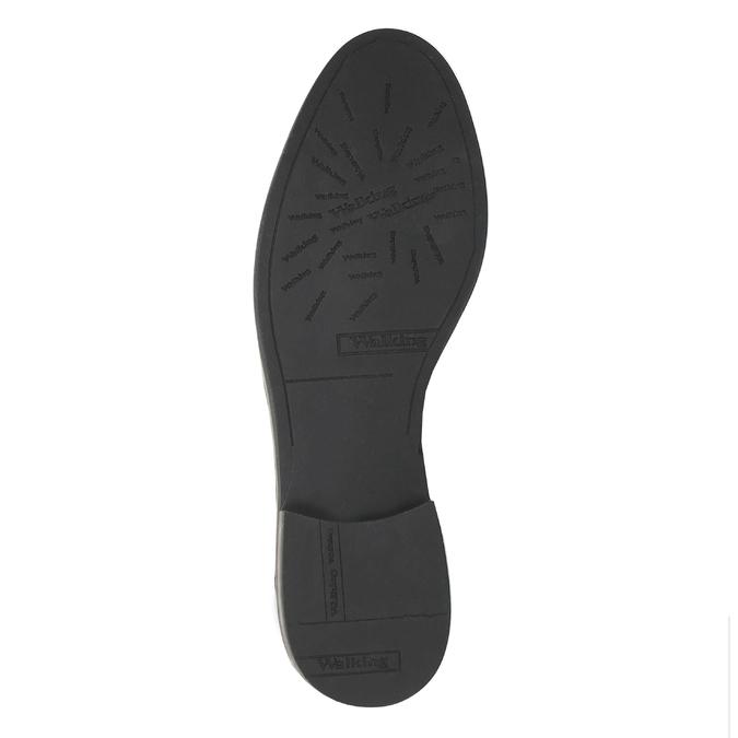 Kožená kotníčková obuv Chelsea bata, černá, 594-6604 - 26