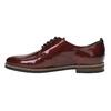 Dámské Derby polobotky bata, červená, 528-5600 - 26