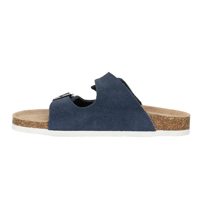 Dětské modré pantofle de-fonseca, modrá, 373-9600 - 26