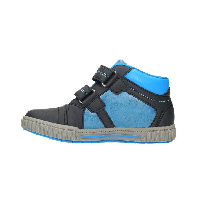 Dětské kotníčkové tenisky mini-b, modrá, 211-9603 - 26