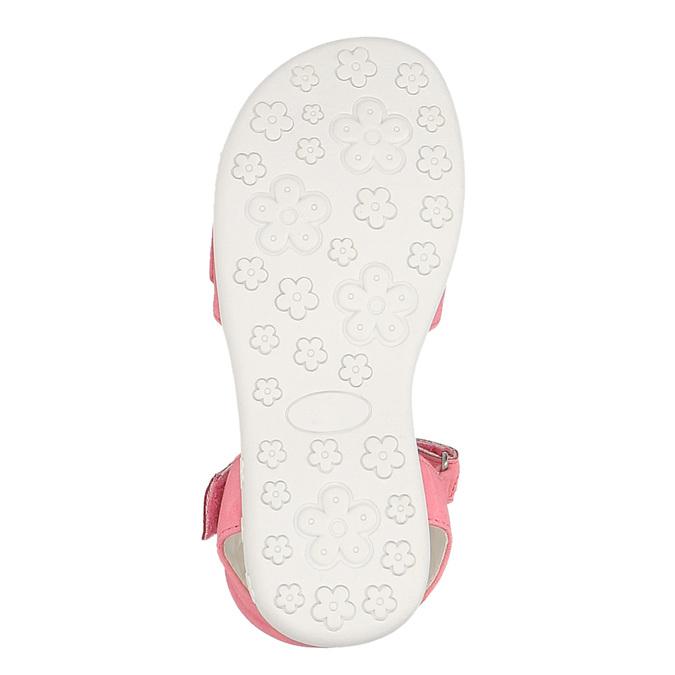Růžové sandály na suché zipy mini-b, růžová, 261-5159 - 26