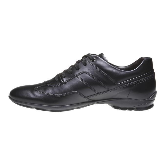 Ležérní kožené polobotky bata, černá, 824-6988 - 15