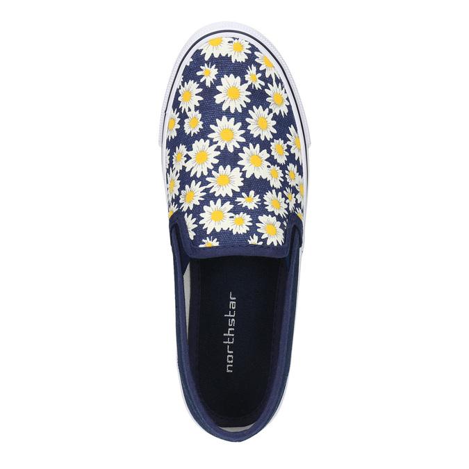 Dětská obuv typu Slip-On mini-b, modrá, 329-9189 - 19