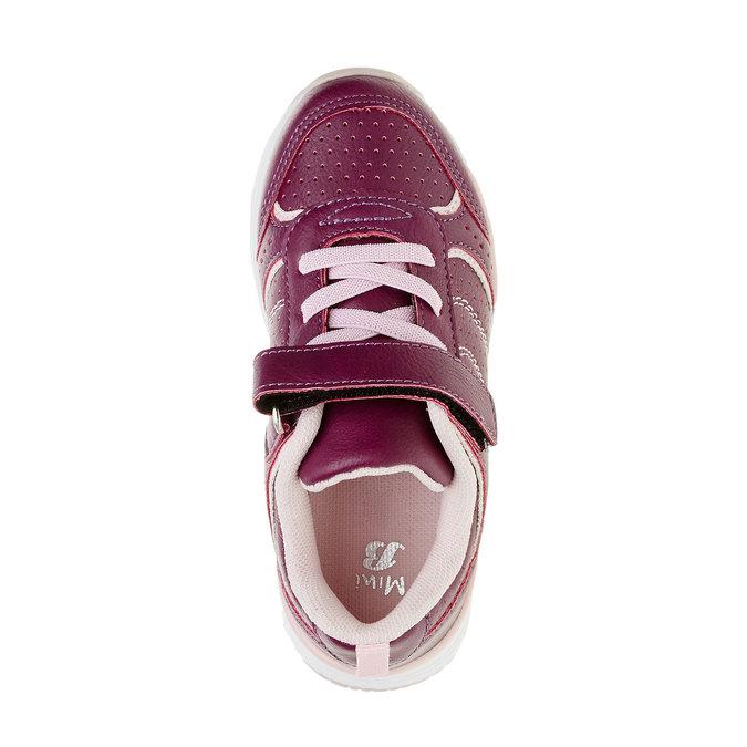 Dívčí sportovní tenisky mini-b, červená, 321-9185 - 19