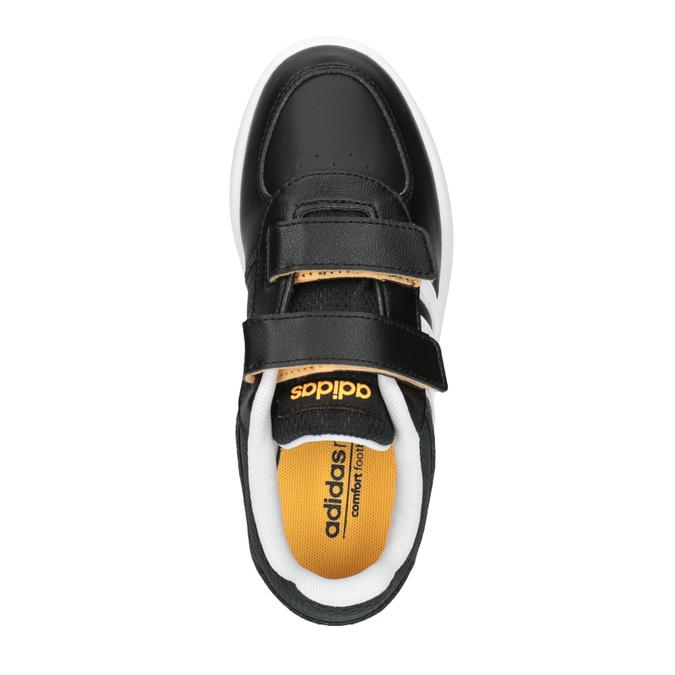 Dětské tenisky na suché zipy adidas, černá, 301-6167 - 19