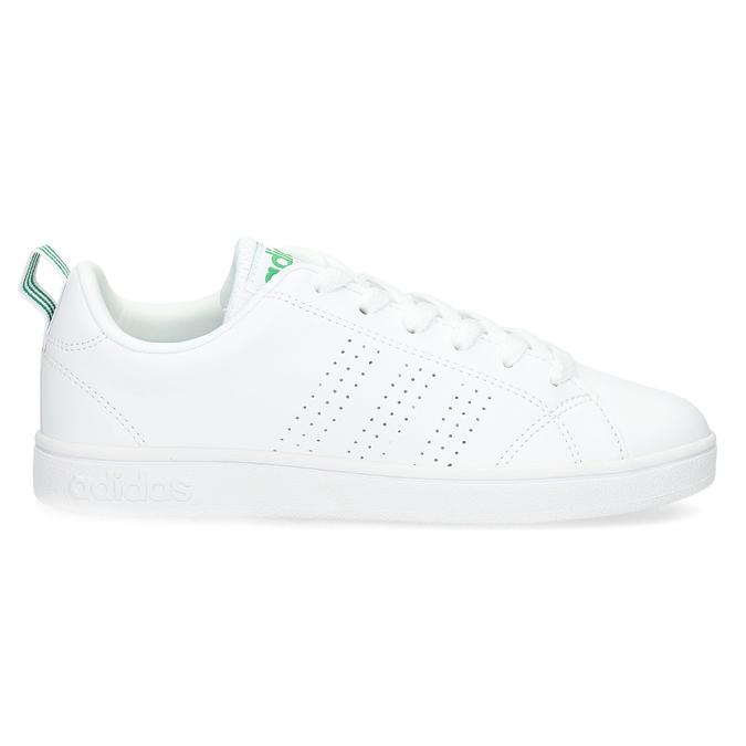 Bílé tenisky se zelenými detaily adidas, bílá, 501-1300 - 19