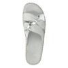 Dámské kožené sandály comfit, bílá, 574-1248 - 19