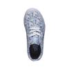 Dětské tenisky s potiskem kytiček vans, modrá, 389-9107 - 19