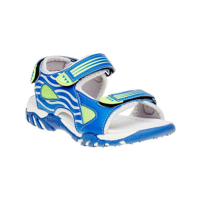 Dětské sandály mini-b, modrá, 261-9168 - 13