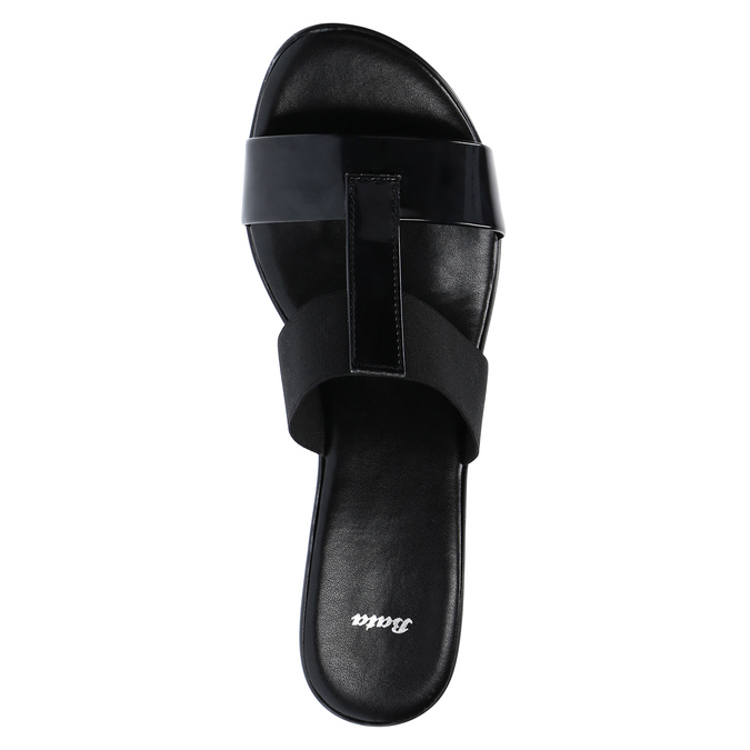 Dámské sandály na nízkém podpatku bata, černá, 671-6835 - 19