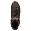 Pánské kotníčkové tenisky bata, hnědá, 844-4625 - 19