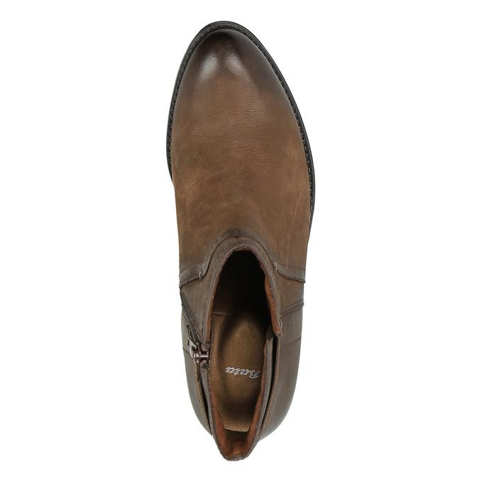 Dámská kotníčková obuv bata, hnědá, 696-4605 - 19