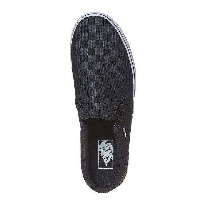Pánské Slip on boty vans, černá, 889-6309 - 19
