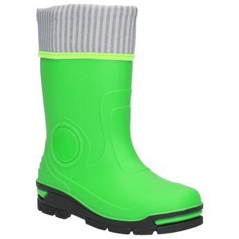 Dětské zelené holínky mini-b, zelená, 292-7200 - 13