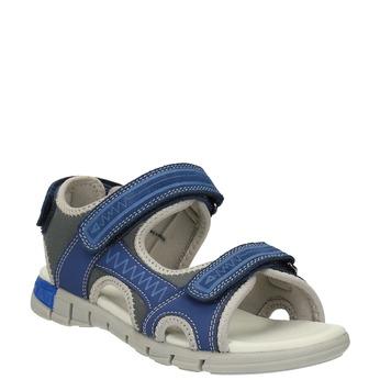 Dětské sandály mini-b, modrá, 363-9182 - 13