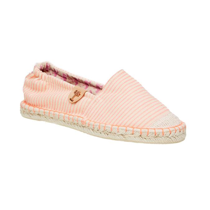 Dámská obuv typu Espadrilles bata, růžová, 559-5400 - 13