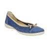 Ležérní kožené baleríny weinbrenner, modrá, 526-9503 - 13