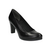 Kožené lodičky na vysokém podpatku bata, černá, 624-6105 - 13