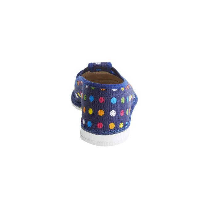 Dětské pantofle bata, modrá, 379-5012 - 17